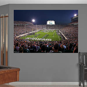 Michigan State Spartans - Night Game at Spartan Stadium Mural Fathead Wall Decal
